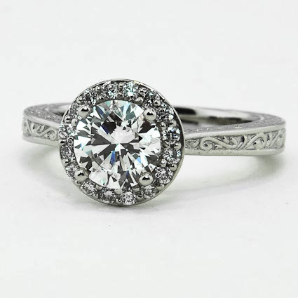 Platinum Contessa Ring