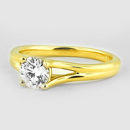 18K Yellow Gold Unity Ring
