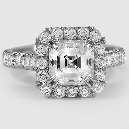 18K White Gold Stella Diamond Ring
