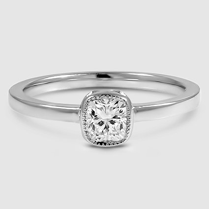 18K White Gold Sierra Ring