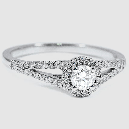 18K White Gold Aurora Diamond Ring (1/4 ct. tw.)