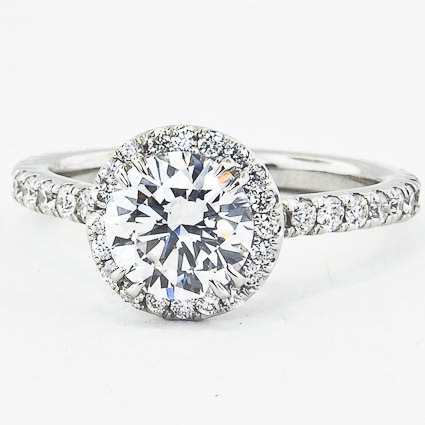 Platinum Ingénue Ring