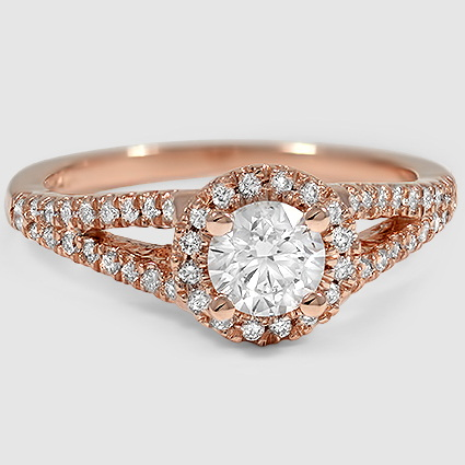 14K Rose Gold Aurora Diamond Ring (1/4 ct. tw.)