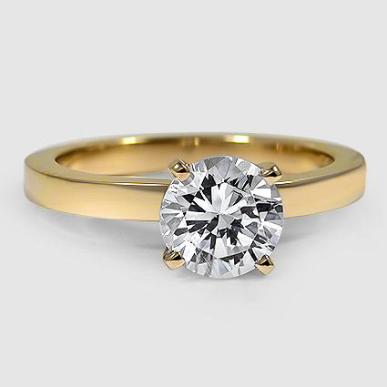 18K Yellow Gold Quattro Ring