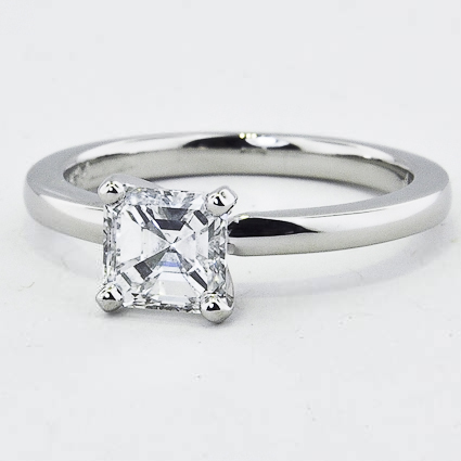 Platinum 2mm Comfort Fit Ring