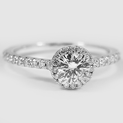 18K White Gold Ingénue Ring
