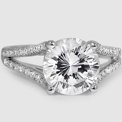 18K White Gold Astoria Diamond Ring