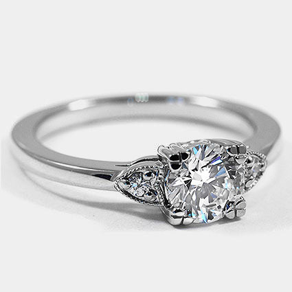 Platinum Aria Diamond Ring