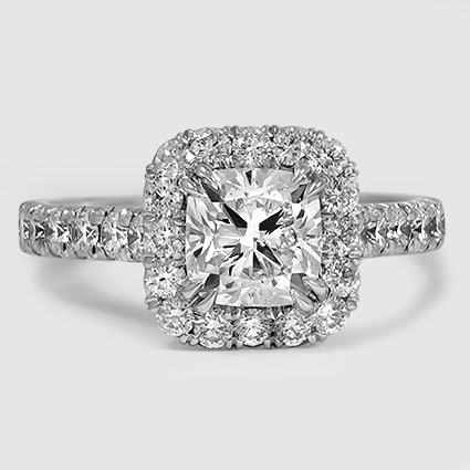 Platinum Sienna Diamond Ring