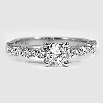 Platinum Isla Diamond Ring (1/4 ct. tw.)
