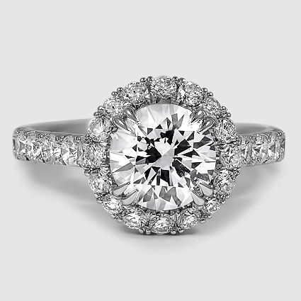 18K White Gold Sienna Diamond Ring