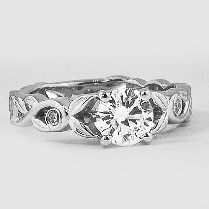 Platinum Forever Spring Diamond Ring