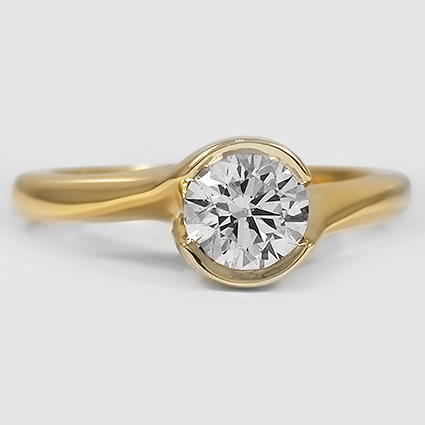18K Yellow Gold Cascade Ring