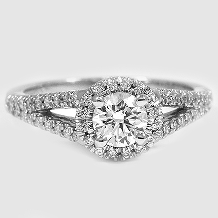 Platinum Aurora Diamond Ring (1/4 ct. tw.)