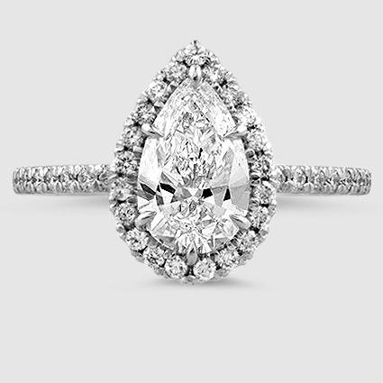 18K White Gold Waverly Diamond Ring (1/2 ct. tw.)