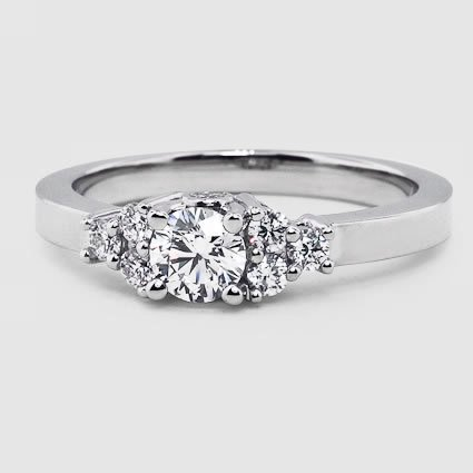 Platinum Trio Diamond Ring