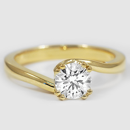 18K Yellow Gold Seacrest Ring