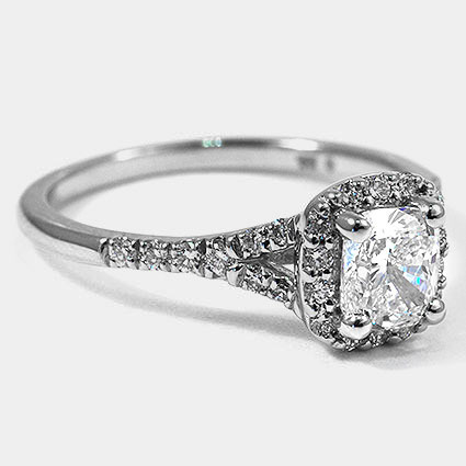 Platinum Harmony Diamond Ring