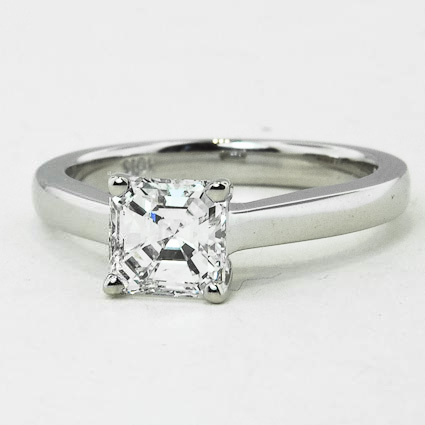 18K White Gold Trellis Ring