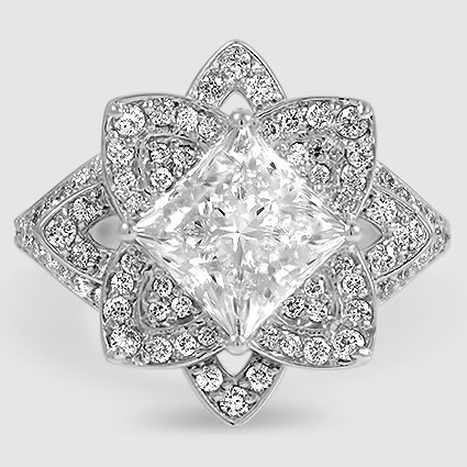 images engagement ring awesome shaped fresh rings reina square on pinterest best of halo wedding crown