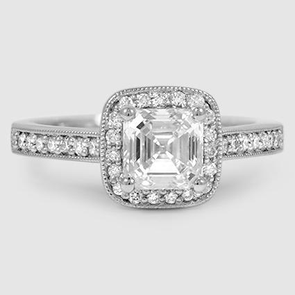 Platinum Felicity Diamond Ring
