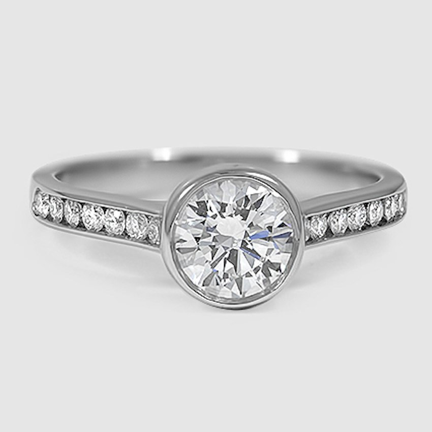 Platinum Luxe Luna Diamond Ring