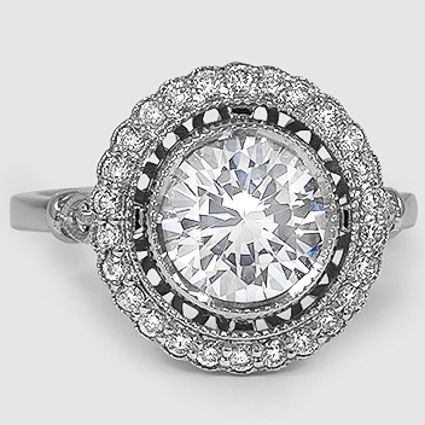 18K White Gold Bella Diamond Ring