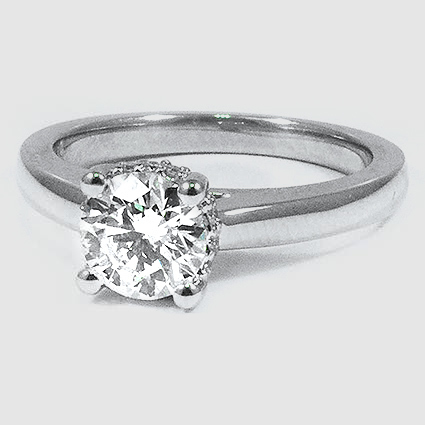 Platinum Sonata Diamond Ring