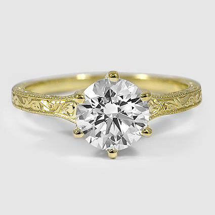 18K Yellow Gold Hudson Ring