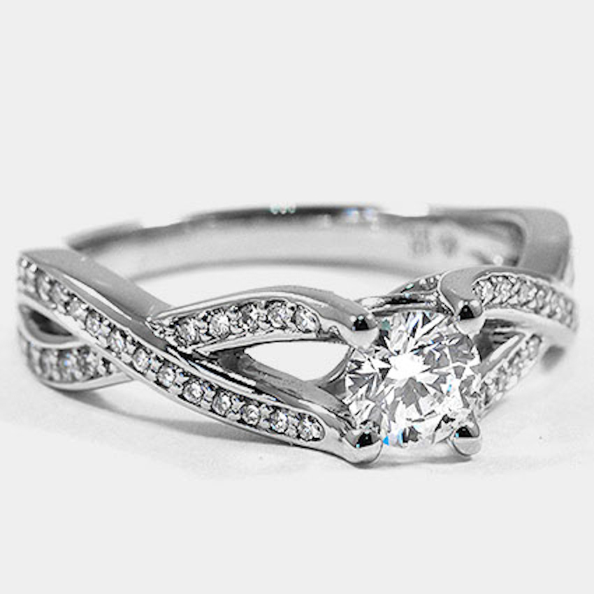 Platinum Amore Diamond Ring