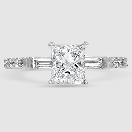 18k White Gold Regency