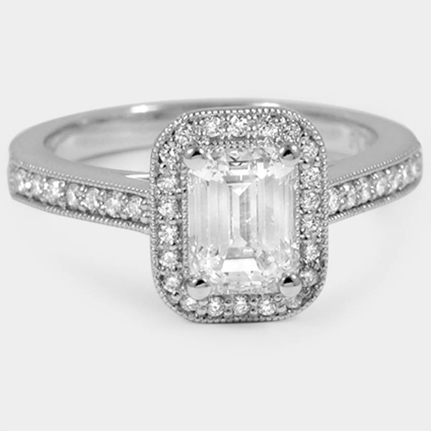 18K White Gold Felicity Diamond Ring