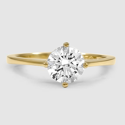 18K Yellow Gold True North Ring