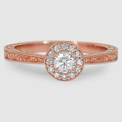 14K Rose Gold Contessa Ring