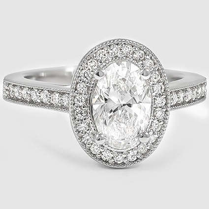 18K White Gold Felicity Diamond Ring (1/4 ct. tw.)