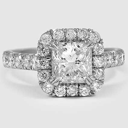 Platinum Stella Diamond Ring
