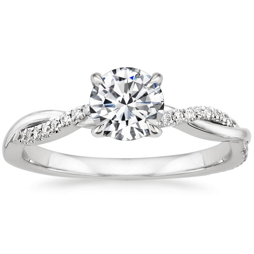 engagement rings solitaire diamond ring bloom birks wedding en round