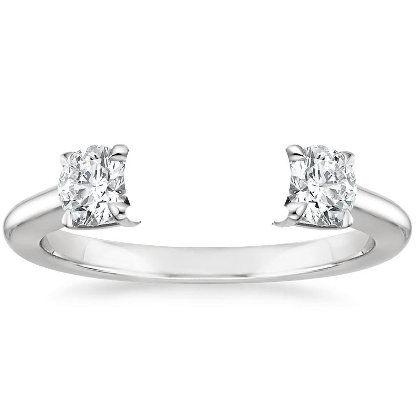 copy diamond three grace stone ewing ring and olivia engagement leaf twig