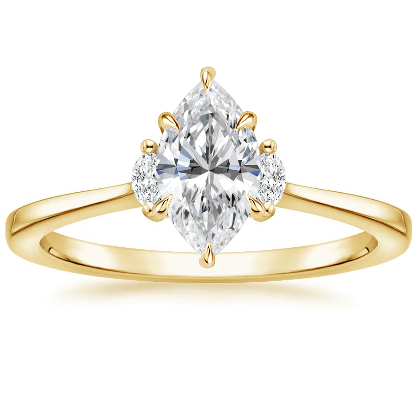 Marquise Marquise Three Stone Ring