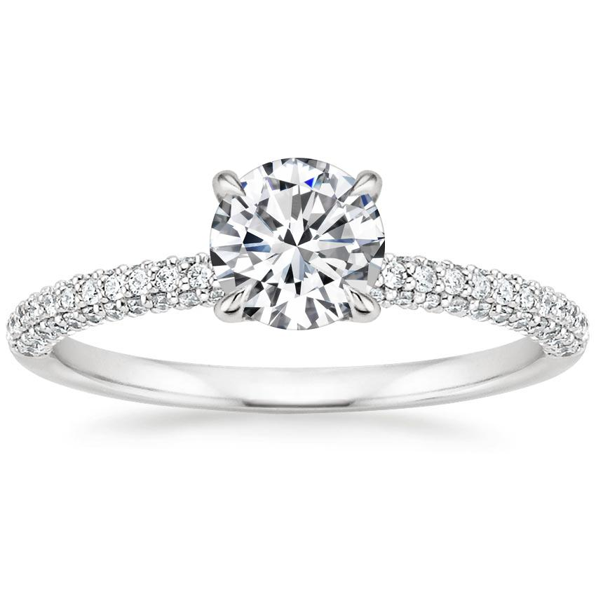 Top Twenty Engagement Rings - VALENCIA DIAMOND RING (1/3 CT. TW.)