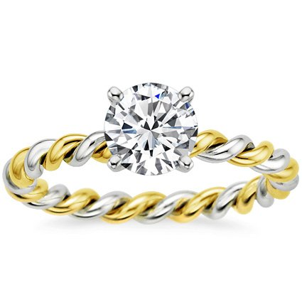 Yellow Gold Melody Ring