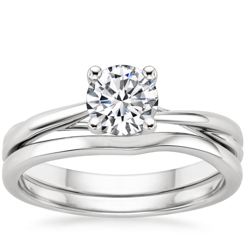18K White Gold Grace Bridal Set
