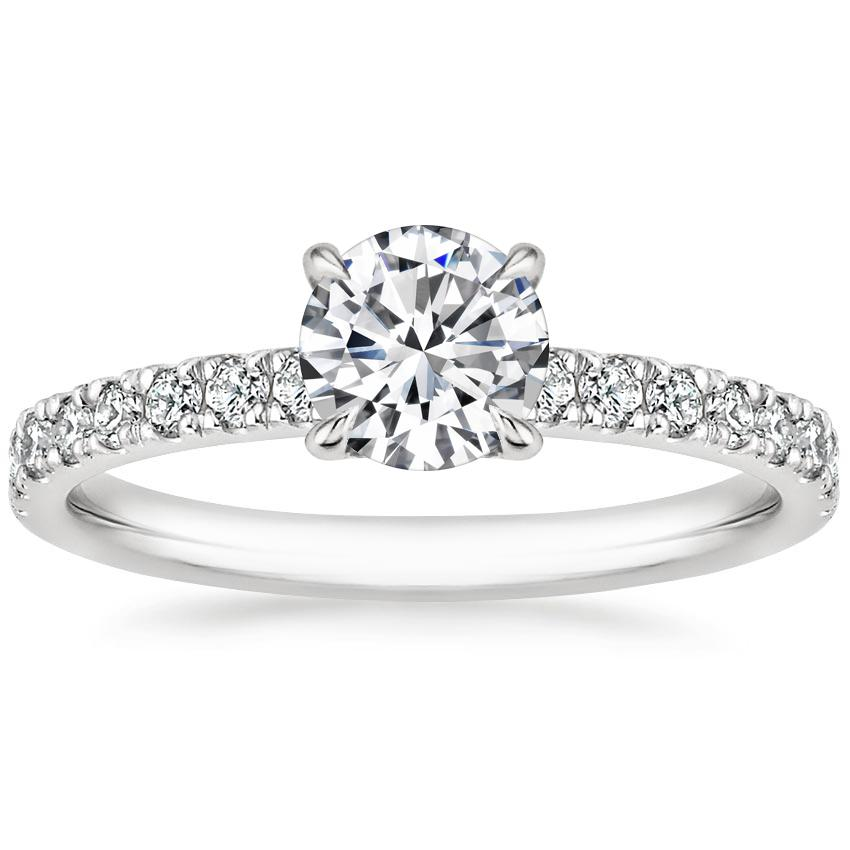 Round Diamond Gallery Engagement Ring