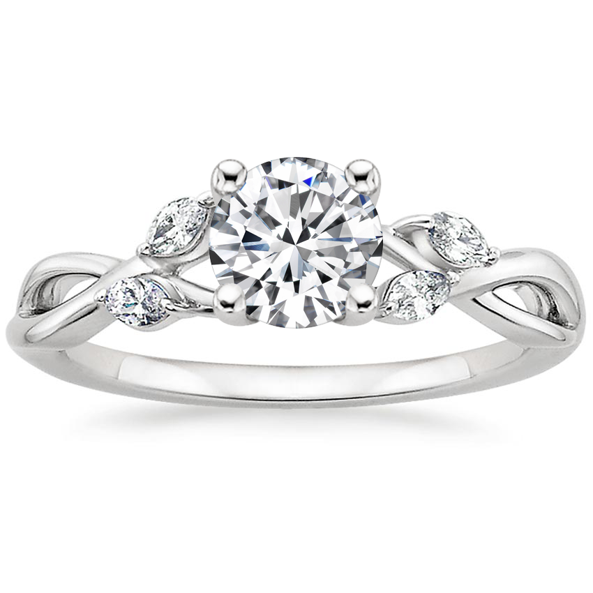 Top Twenty  Engagement Rings - WILLOW DIAMOND RING (1/8 CT. TW.)