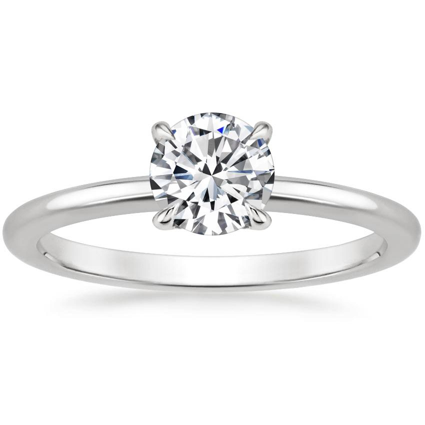Round Pavé Wrap Diamond Ring
