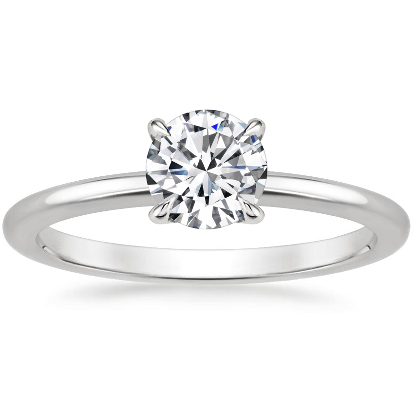 Top Twenty  Engagement Rings - SECRET HALO DIAMOND RING