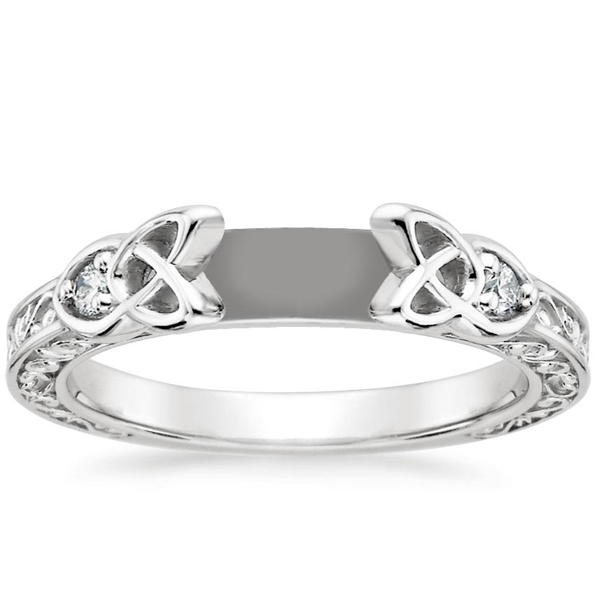 engagement wedding and raised products with inlay rings titanium studio ring platinum platium