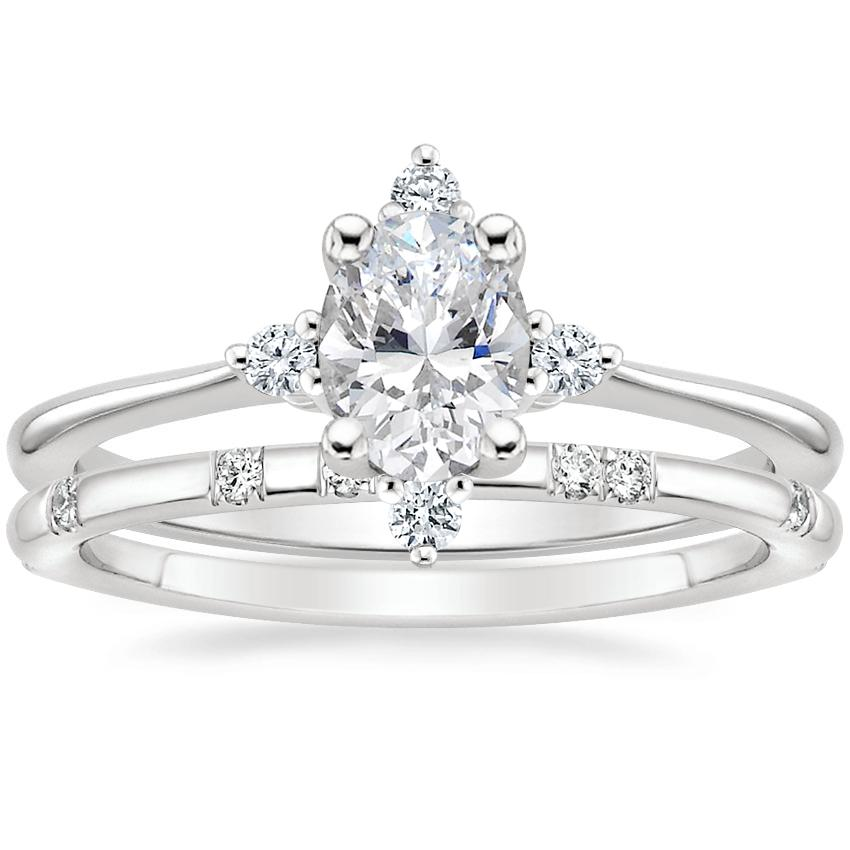 Platinum Luminesce Diamond Ring with Astra Diamond Ring