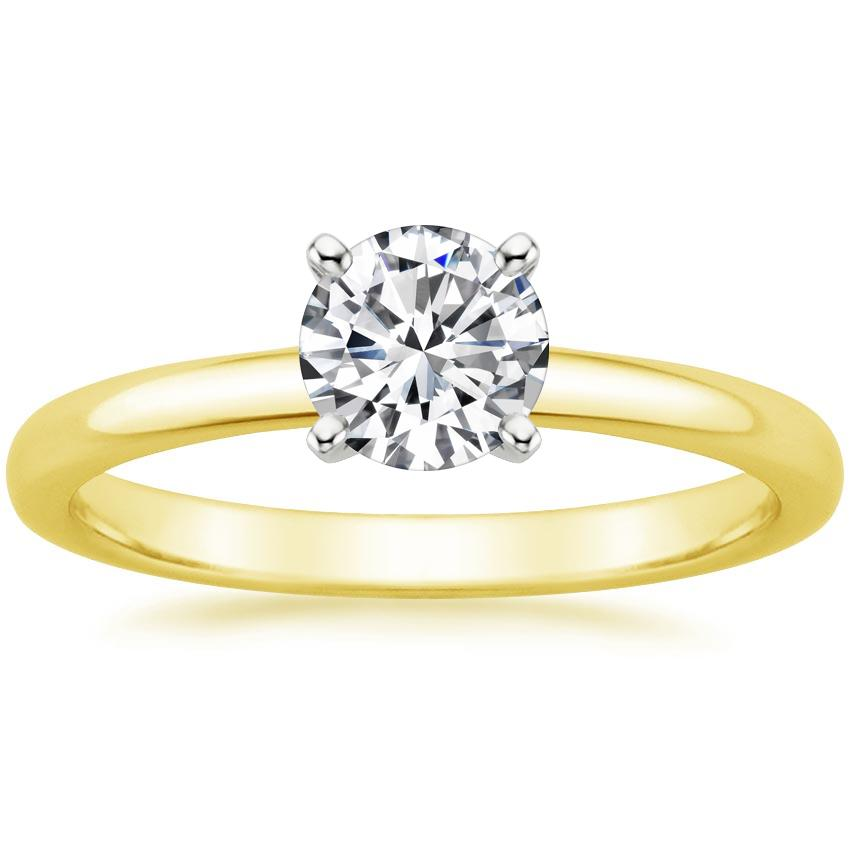 Yellow Gold 2mm Comfort Fit Ring