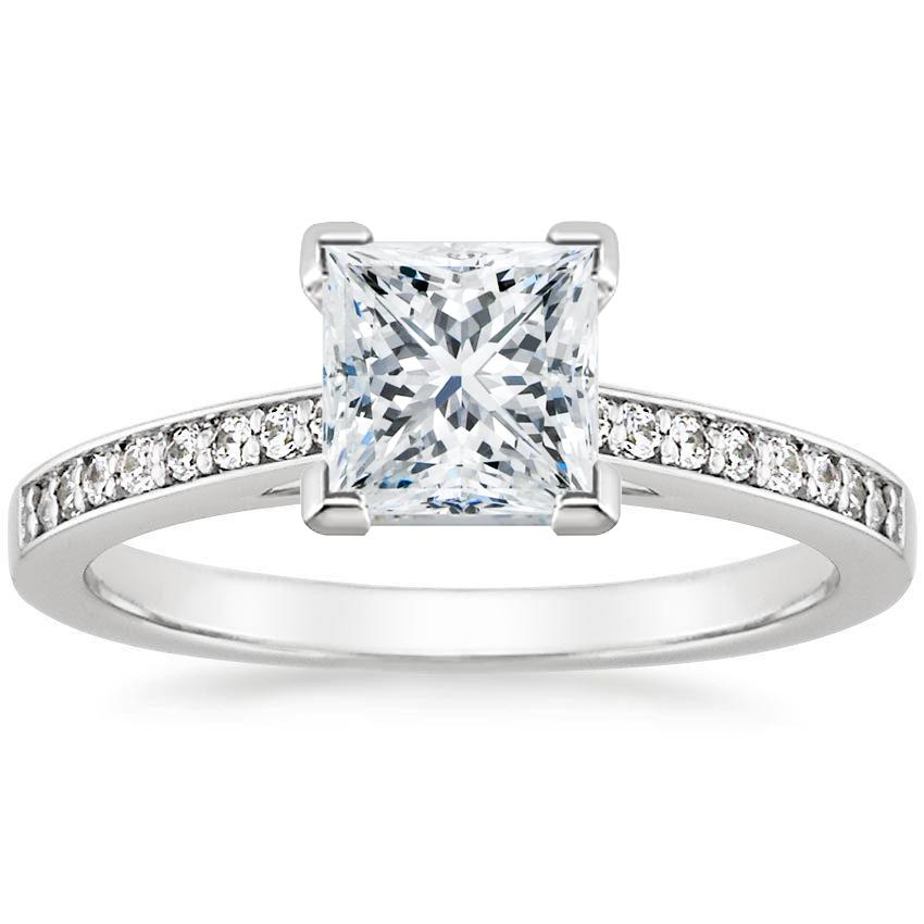 Pav 233 Engagement Ring Setting Starlight Brilliant Earth